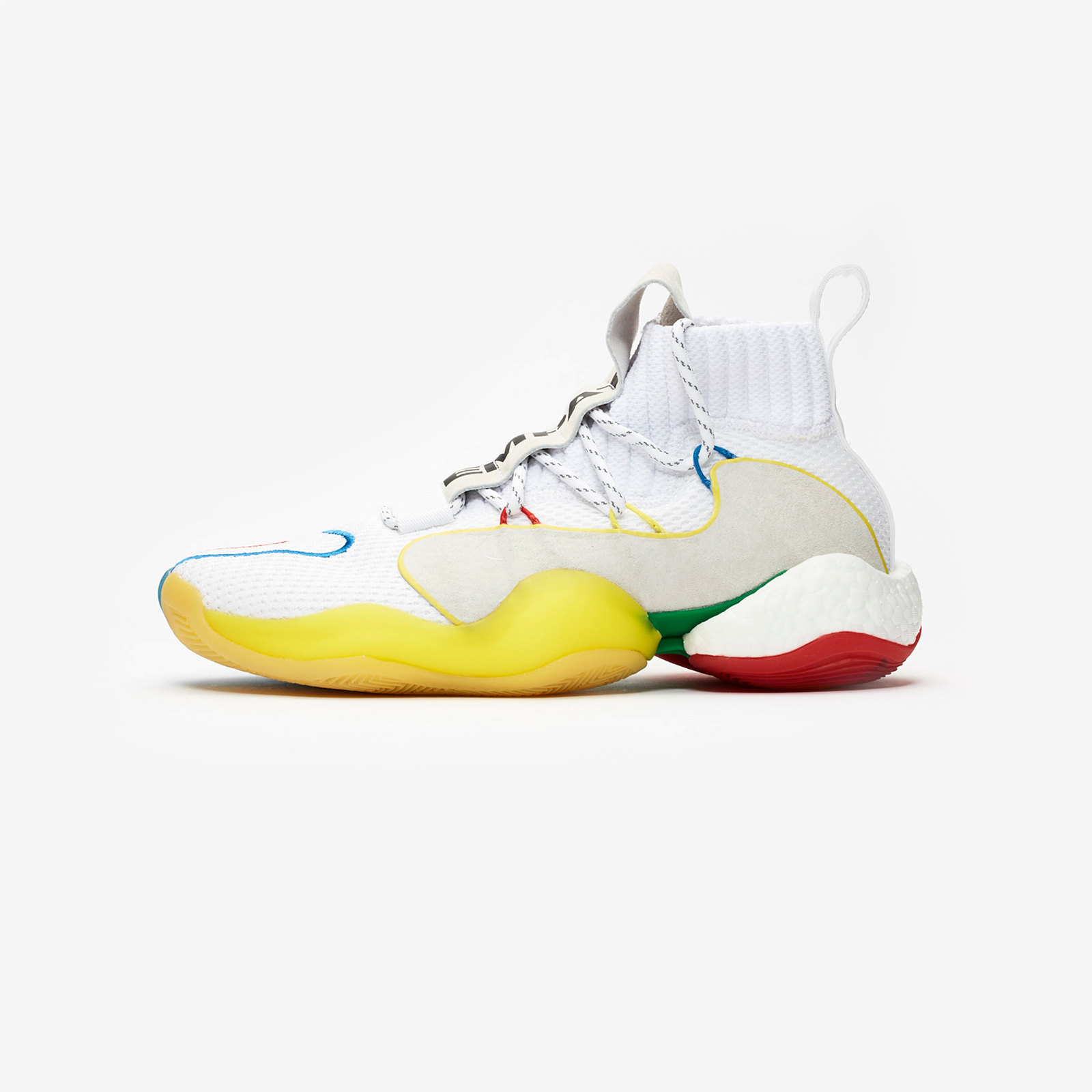 pharrell x adidas launch the all-new crazy byw pw