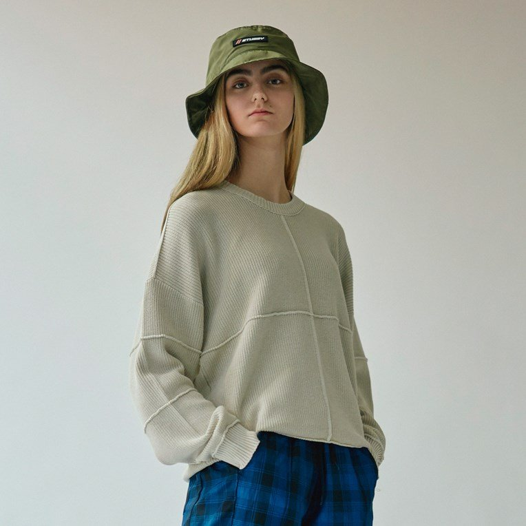 Stussy Lou Inside Out Sweater - 4
