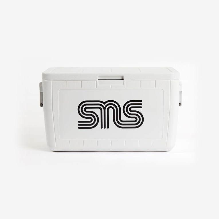 SNS SNS Logo Coleman 48-Quart Chest Cooler