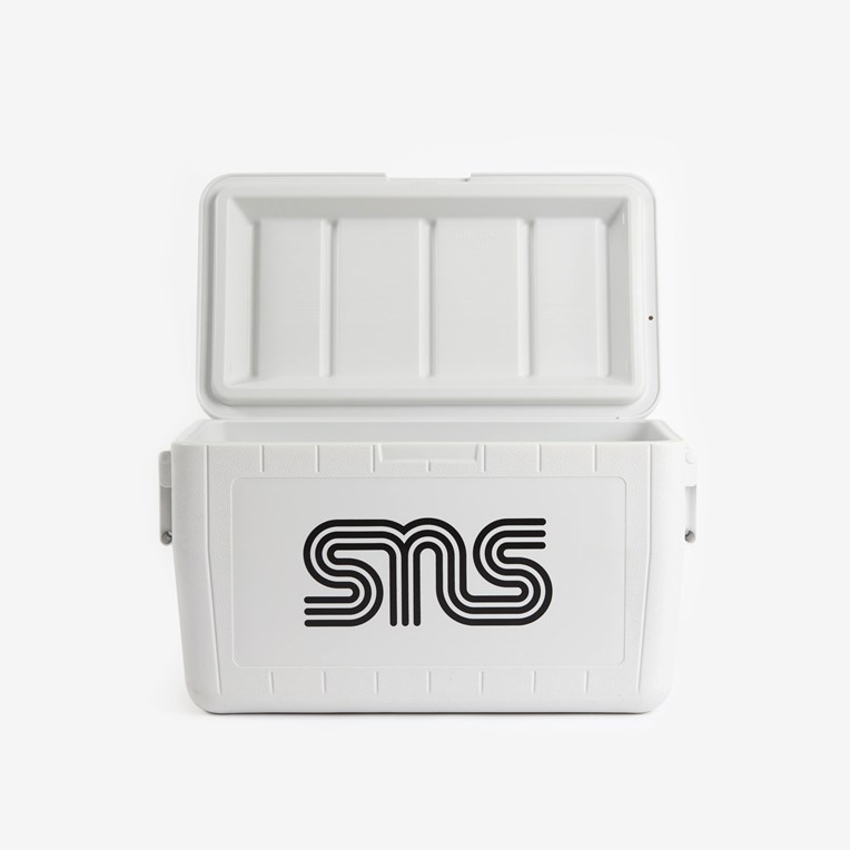 SNS SNS Logo Coleman 48-Quart Chest Cooler - 2