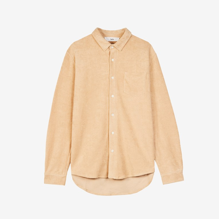 Séfr Leo Bathrobe Shirt