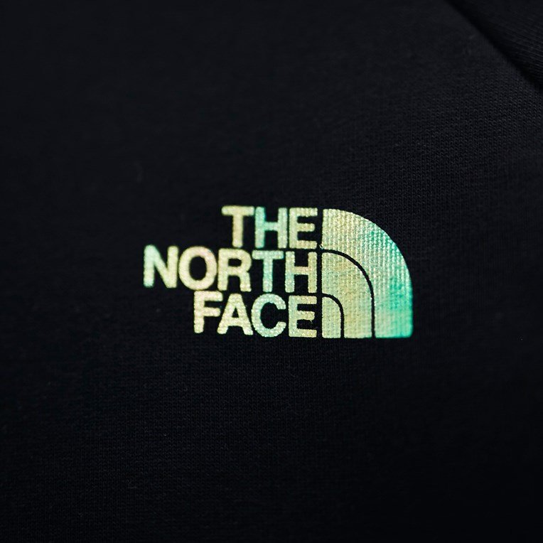 The North Face Raglan Red Box Hoodie - 3