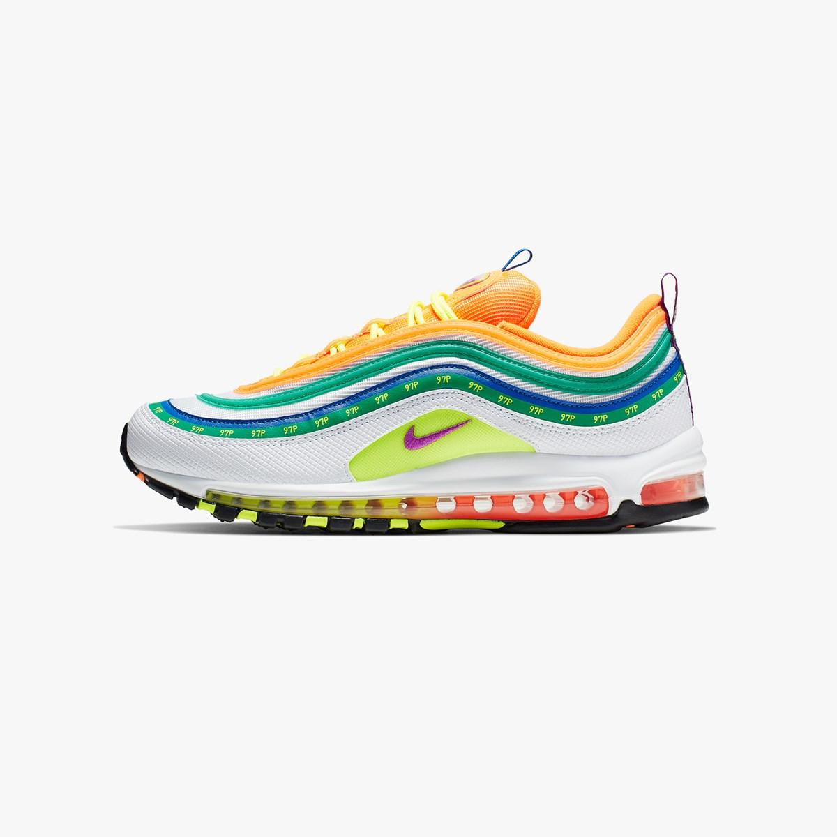 """Nike Air Max 97 On Air """"London Summer of Love"""" Ci1504 100"""