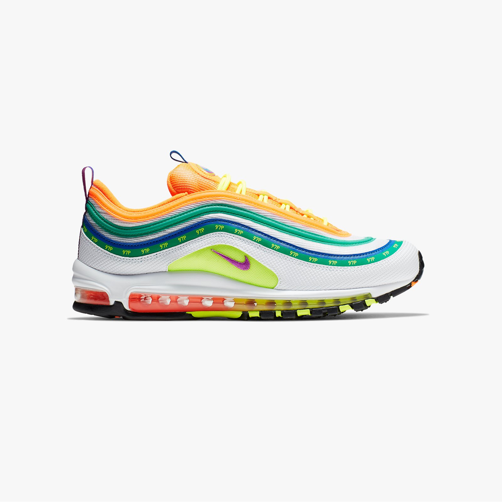 "Nike Air Max 97 On Air ""London Summer of Love"" Ci1504 100"