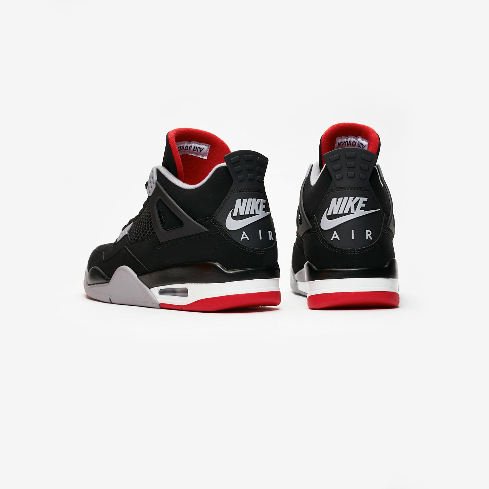 0b82050da21569 Jordan Brand Air Jordan 4 Retro - 308497-060 - Sneakersnstuff ...