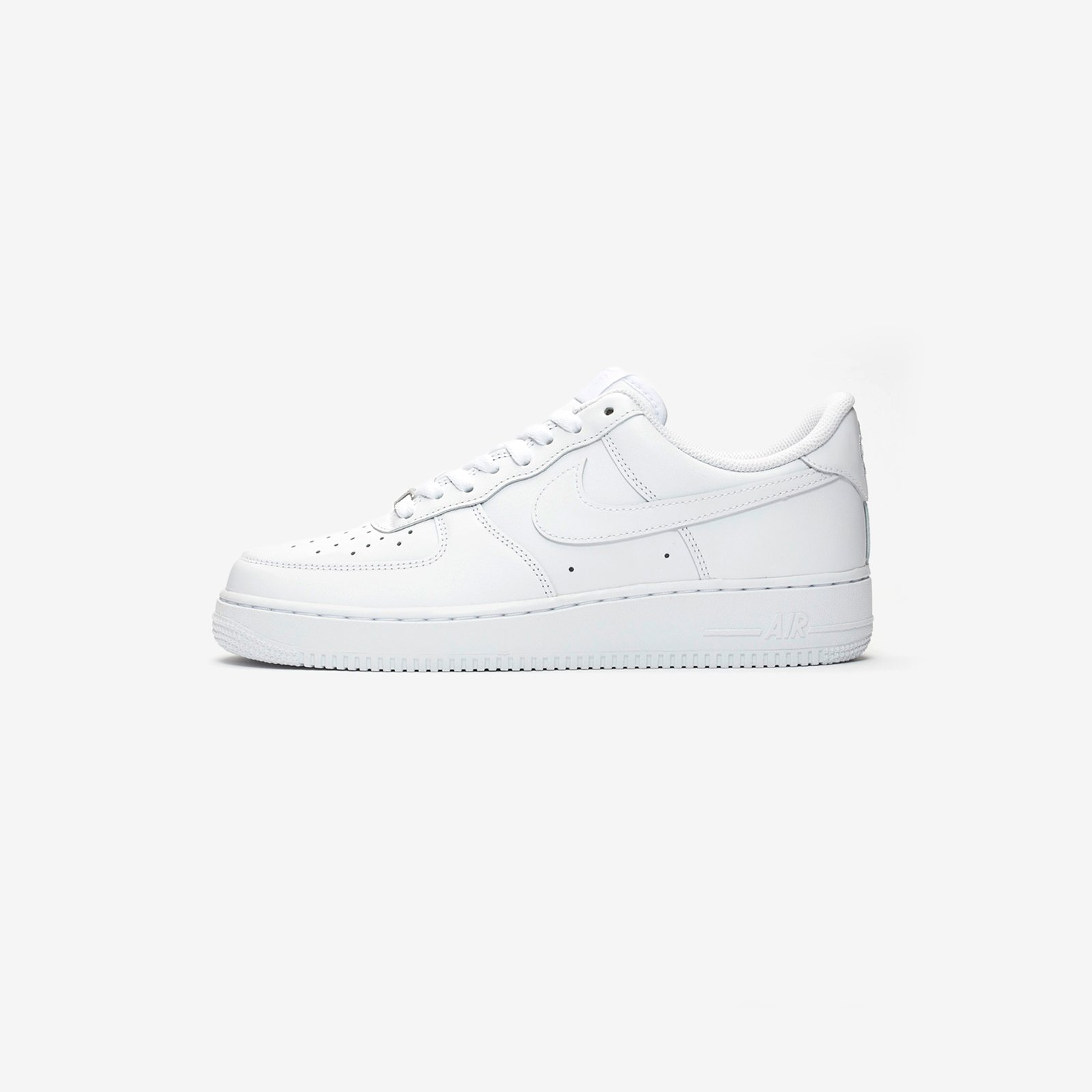 Nike Air Force 1 Nike AF1 Air Force One All Black White Low Top Sneakers 315115 112