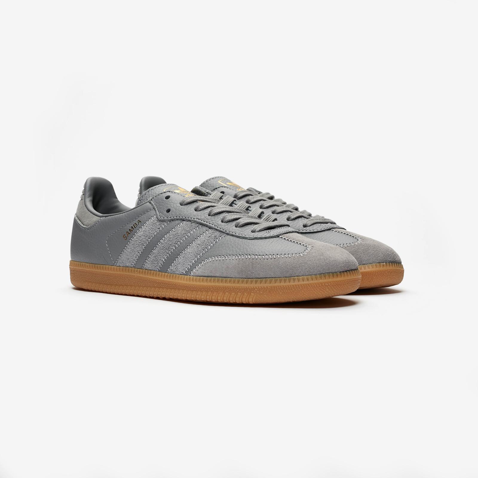 adidas Originals - Samba OG- Sneaker in Weiß und Rot