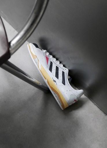 Billiga Adidas Konsortium Superstar 80 Bape X Undftd X Blå