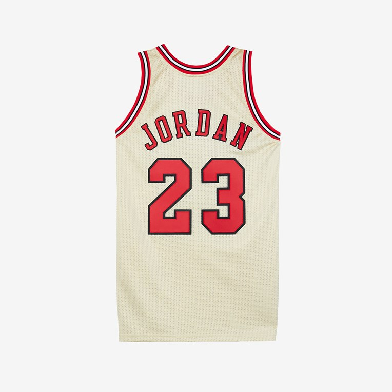 Mitchell & Ness Gold Authentic Jersey - Michael Jordan - 2