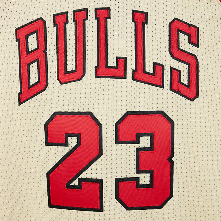 Mitchell & Ness Gold Authentic Jersey - Michael Jordan - 5