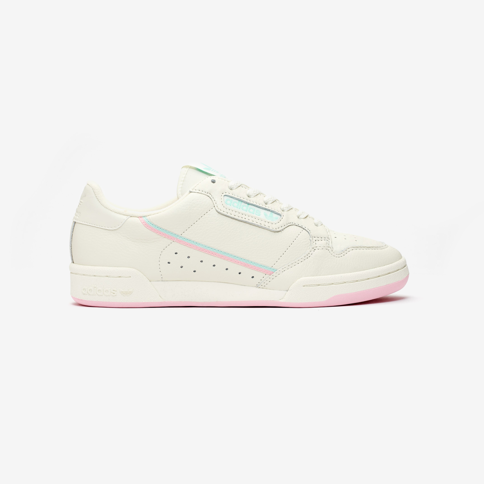 adidas originals CONTINENTAL 80 off whitetrue pinkclear