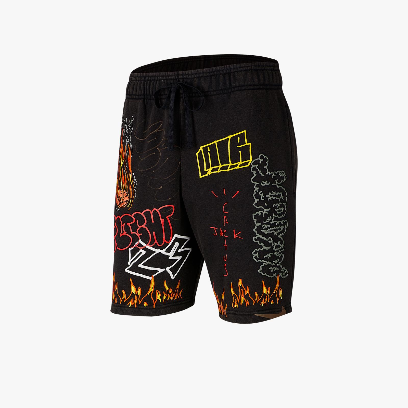 51e43d0ecbca52 Jordan Brand Fleece Short x Travis Scott - Ck4026-010 ...