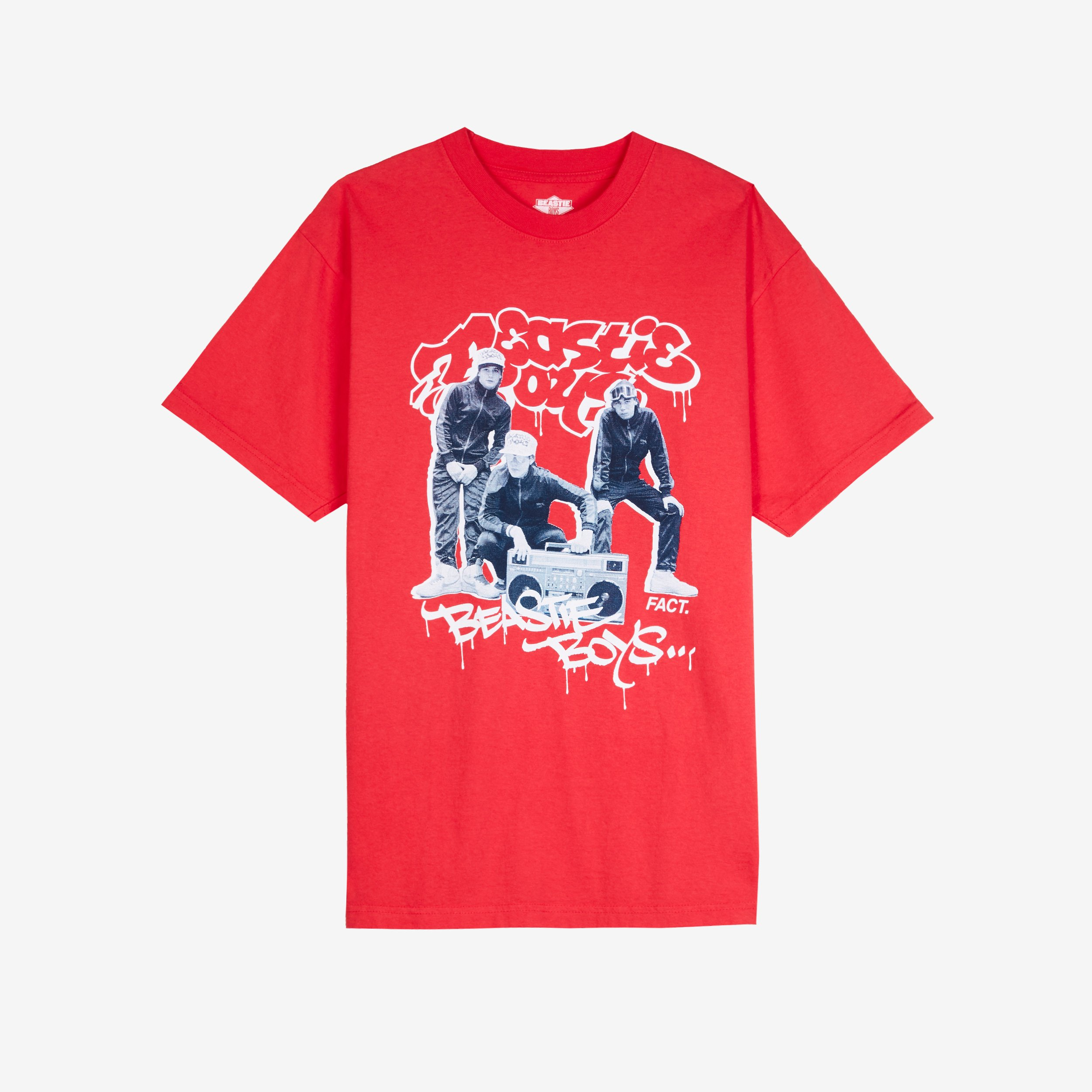 0d5a9080c FACT Bboys Short Sleeve T-Shirt - Bb-photo-ss-red - Sneakersnstuff ...