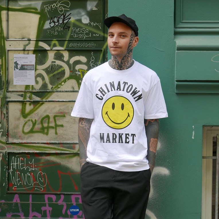 Chinatown Market Smiley Logo T-Shirt - 4