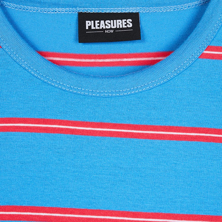 Pleasures Scream Striped Long Sleeve Shirt - 3
