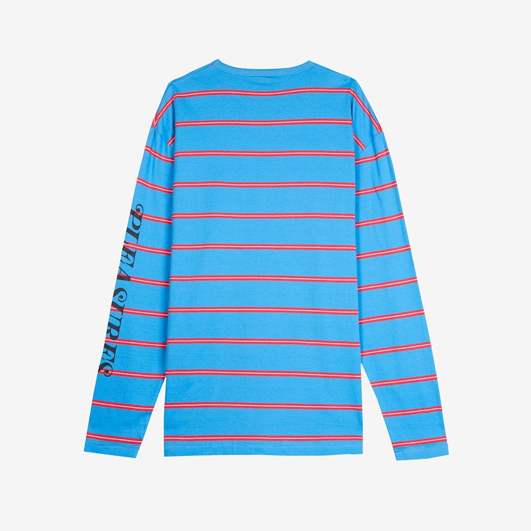 Pleasures Scream Striped Long Sleeve Shirt - 2