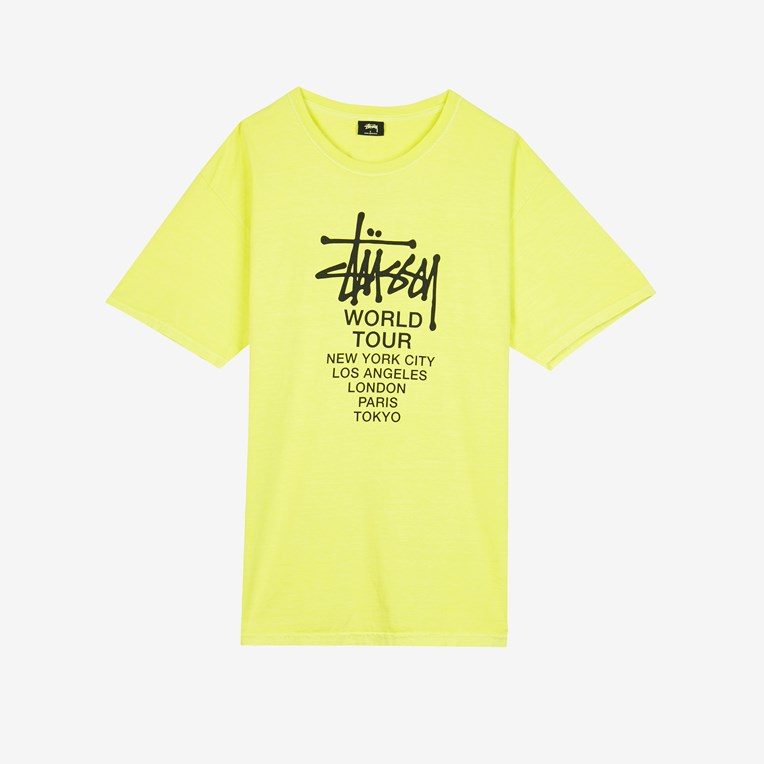 Stussy Tour Pig.Dyed Tee