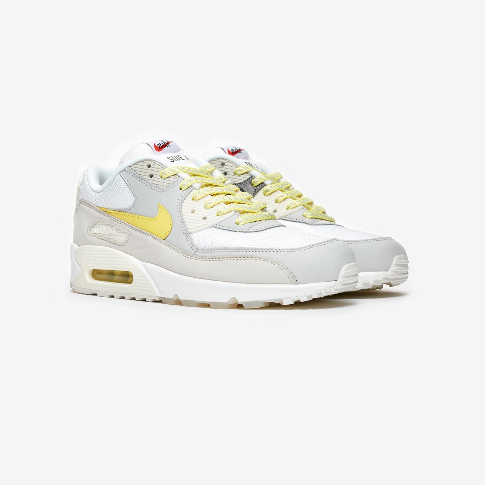 "92948ecc92 Nike Air Max 90 Premium ""Side A"" - Ci6394-100 - Sneakersnstuff | sneakers &  streetwear online since 1999"