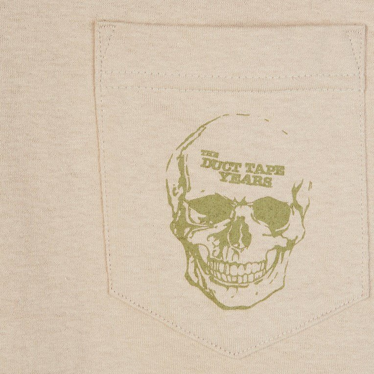The Duct Tape Years Skull Pocket T-Shirt - 2