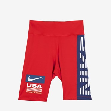 Wmns Swoosh Stripe Bike Short