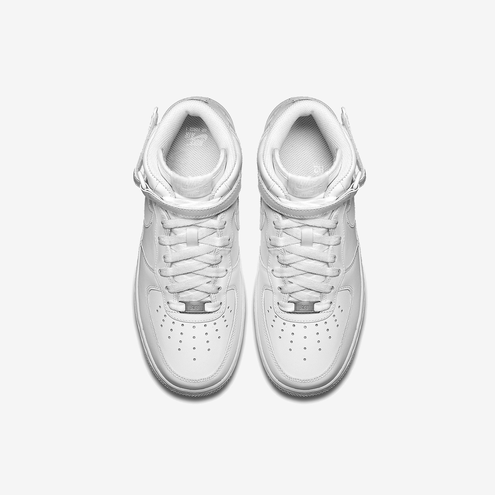 Women's Air Force 1 Mid '07 Leather White 366731 100