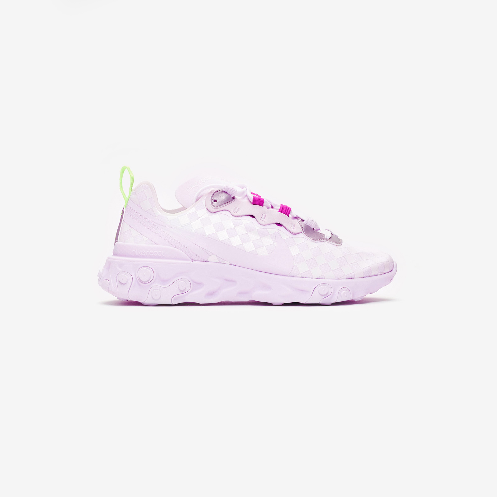Nike WMNS React Element 55 Barely Grape   43einhalb Sneaker Store