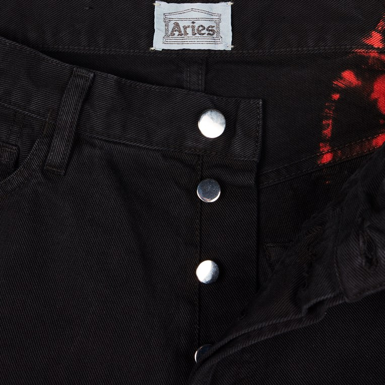Aries Lilly Tie Dye Jeans - 3