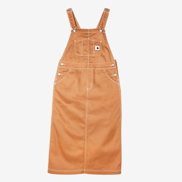 W Bib Straight Skirt