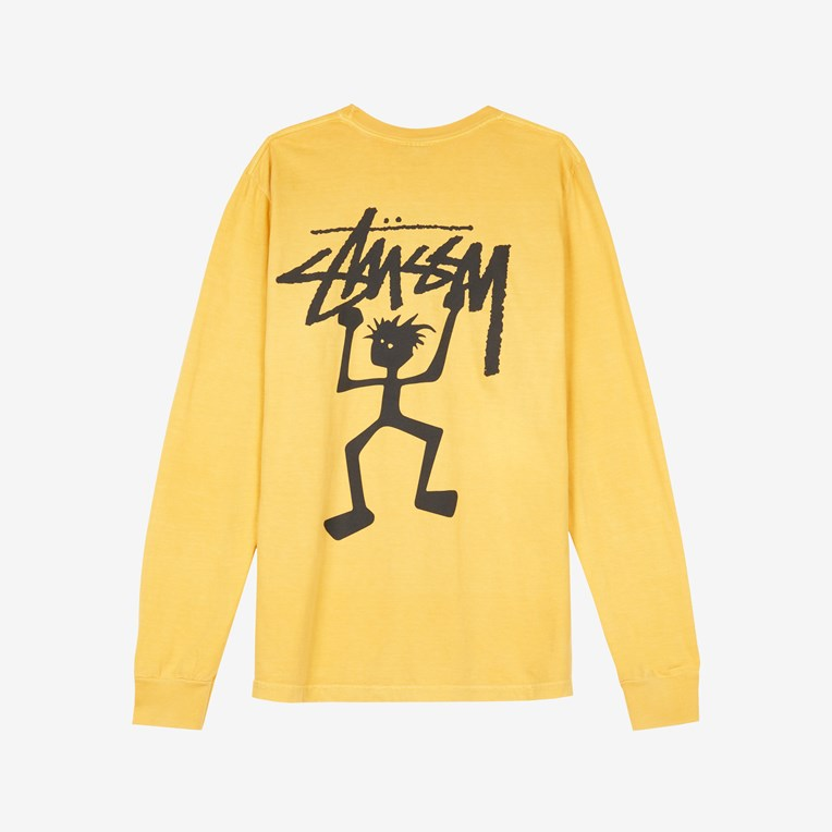Stussy Warrior Man Pig.Dyed LS Tee - 2