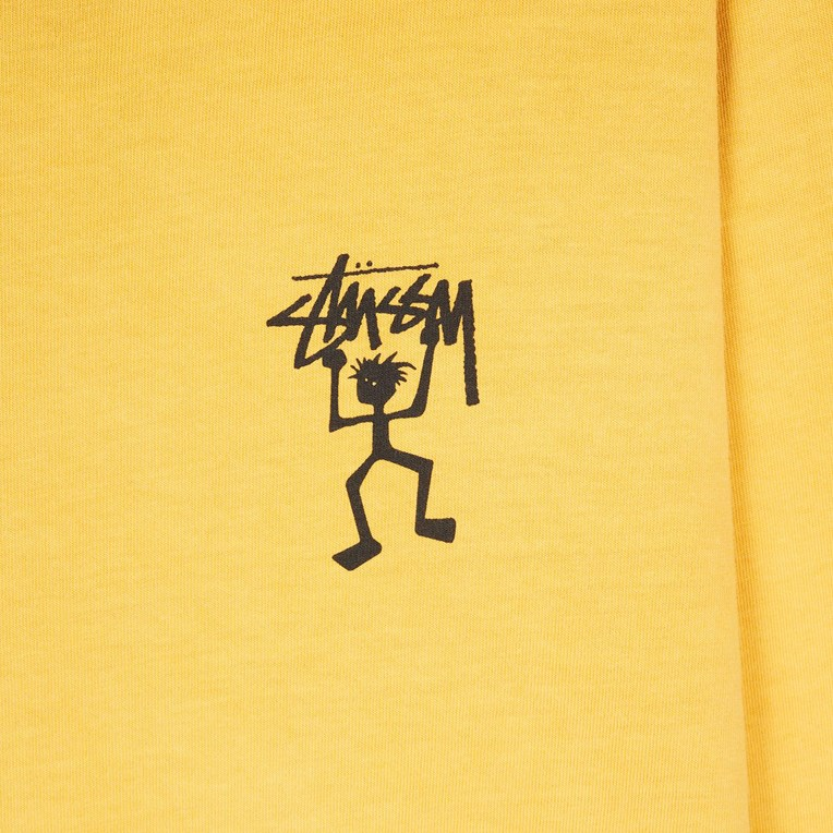 Stussy Warrior Man Pig.Dyed LS Tee - 3