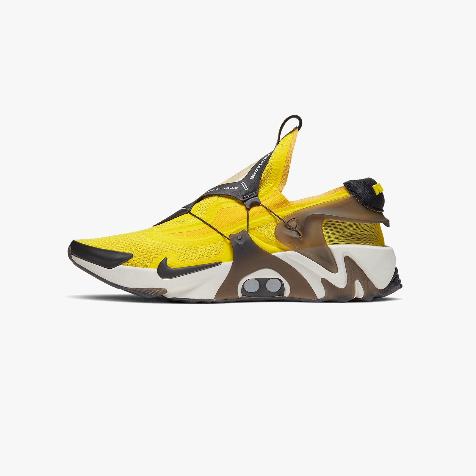 NIKE Air Huarache Run Special Edition Herren Sneaker Schwarz, Größenauswahl:45