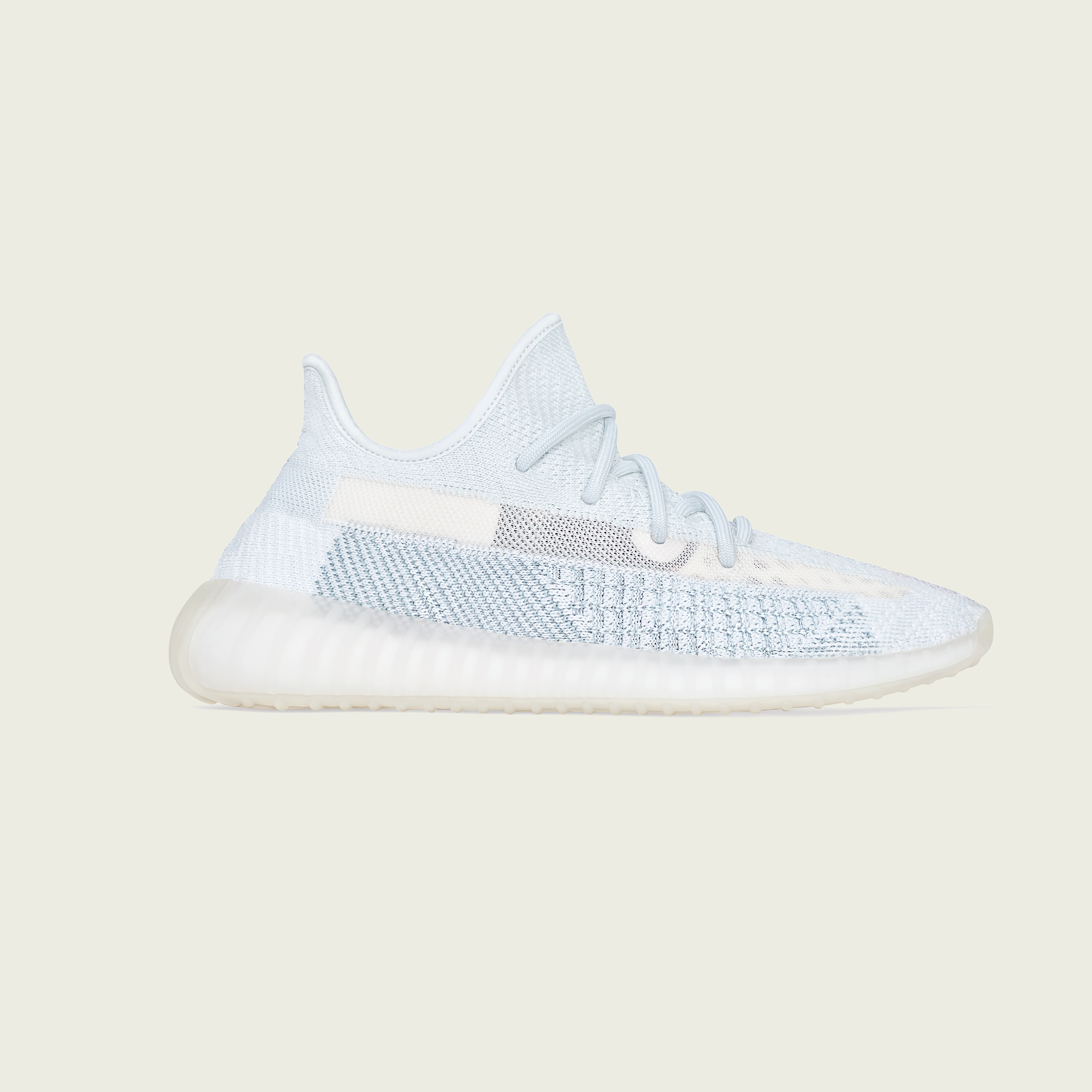 Adidas Yeezy Boost 350 V2 Cloud White Non Reflective FW3043