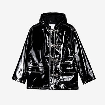 Vinyl Lobster Clip Jacket