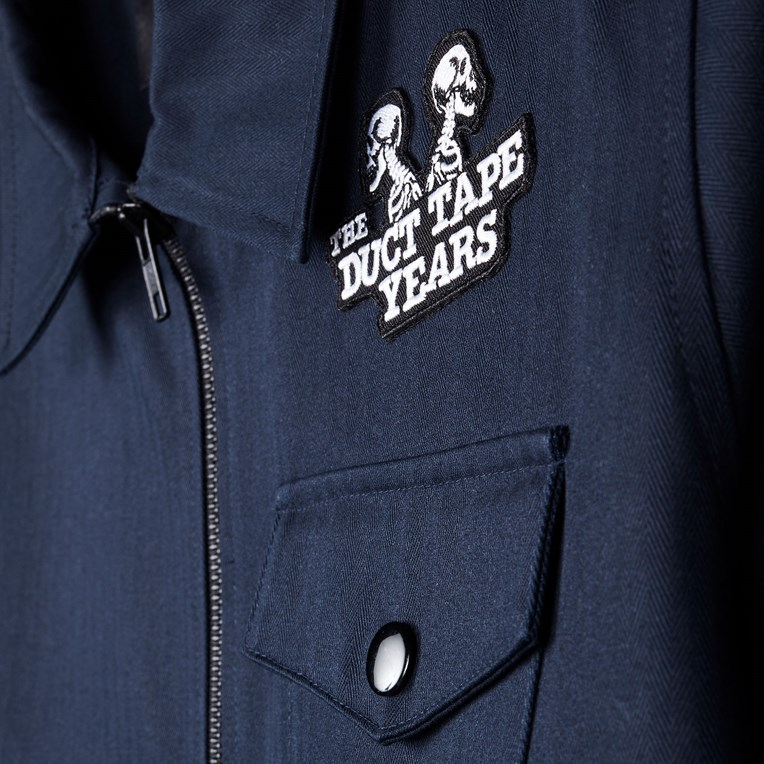 The Duct Tape Years Military Coach Jacket - 5