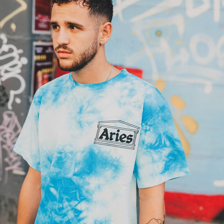 Aries Temple Tie Dye T-Shirt - 6