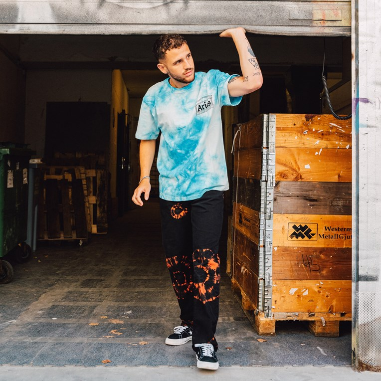 Aries Temple Tie Dye T-Shirt - 8