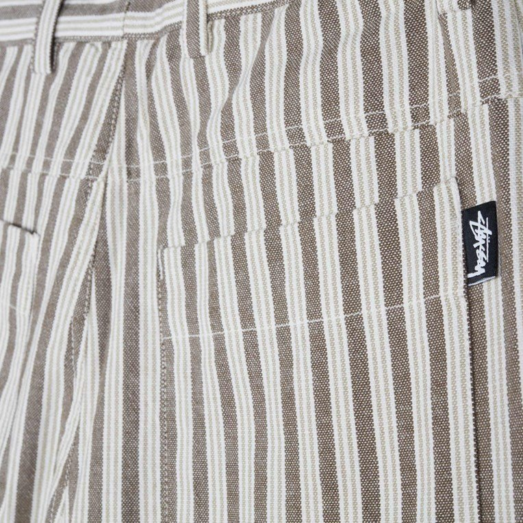 Stussy Piper Stripe Carpenter Pant - 4