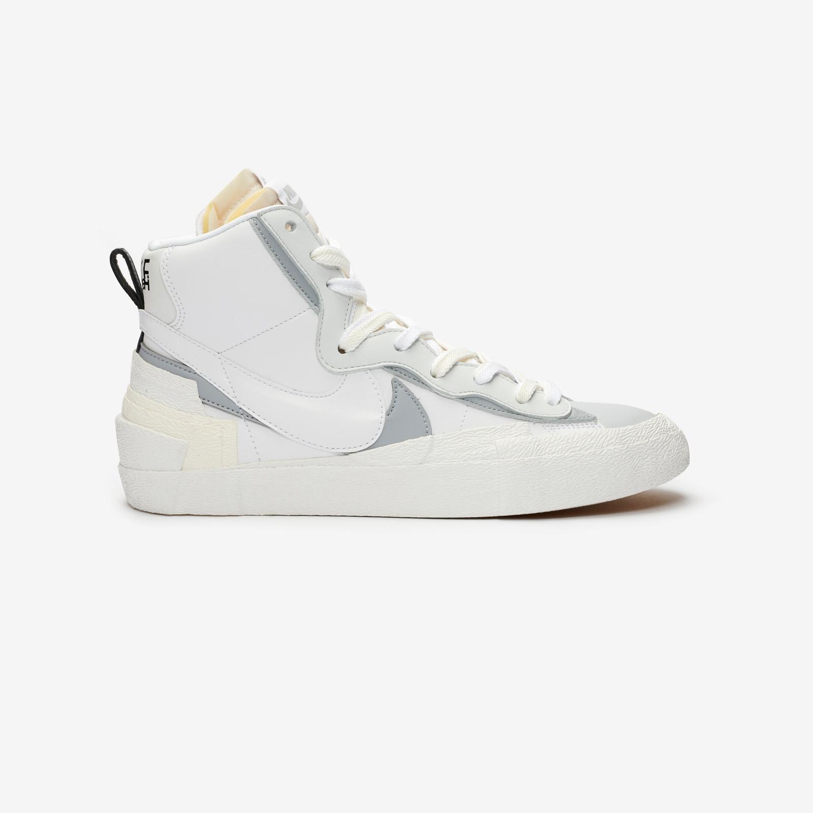 white sacai blazer