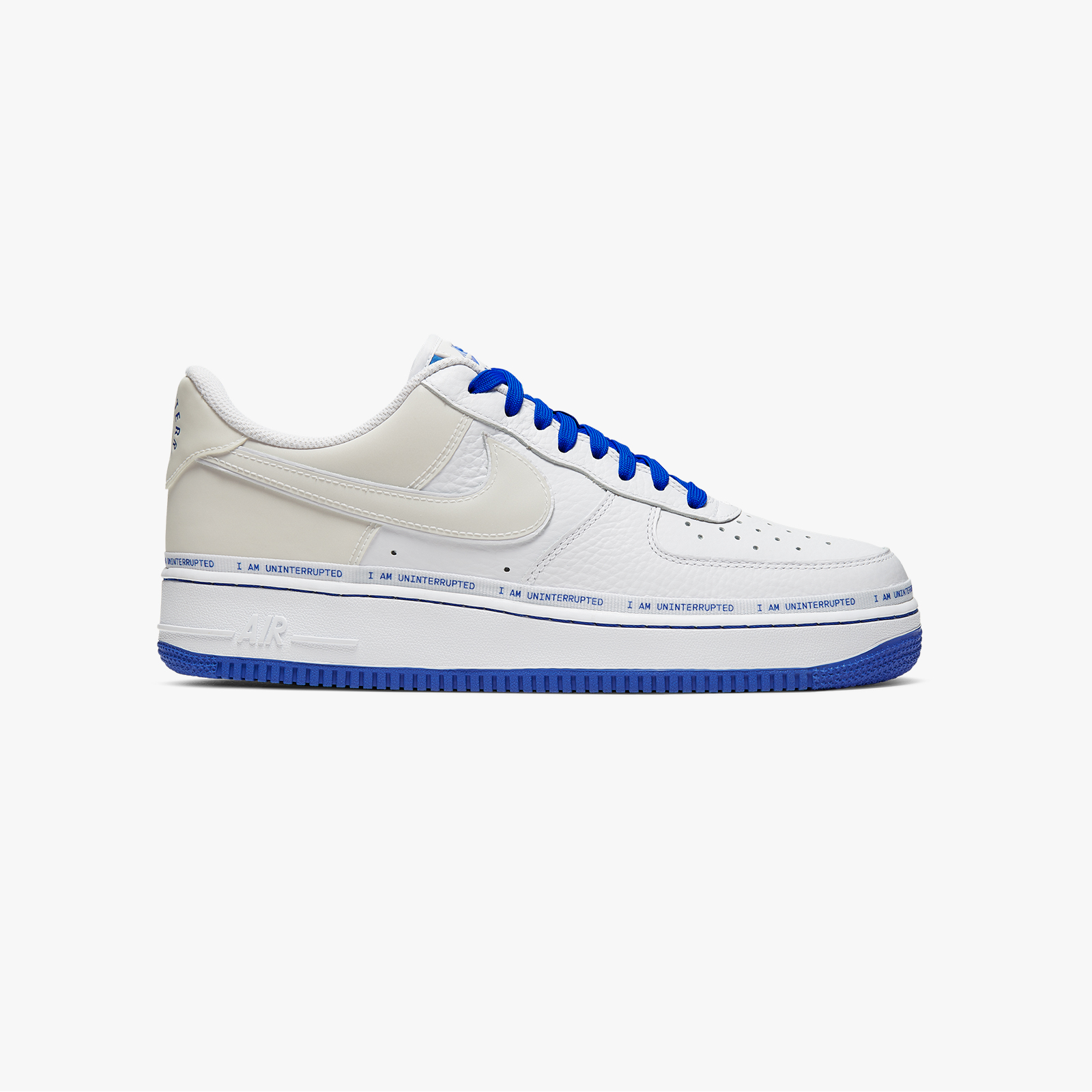 Nike Nike Air Force 1 '07 LV8 3 Weiß Blau Metall