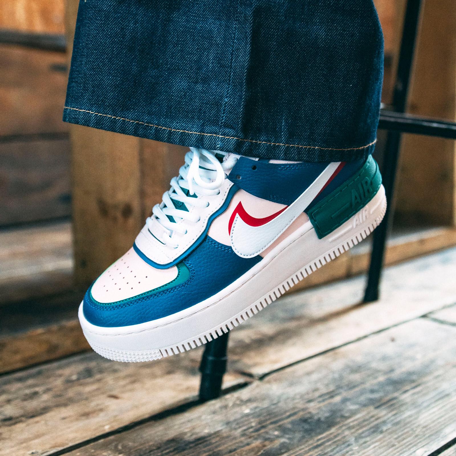 Nike Wmns AF1 Shadow - Ci0919-400 - SNS   sneakers & streetwear ...