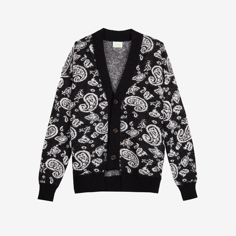 Aries Paisley Cardigan