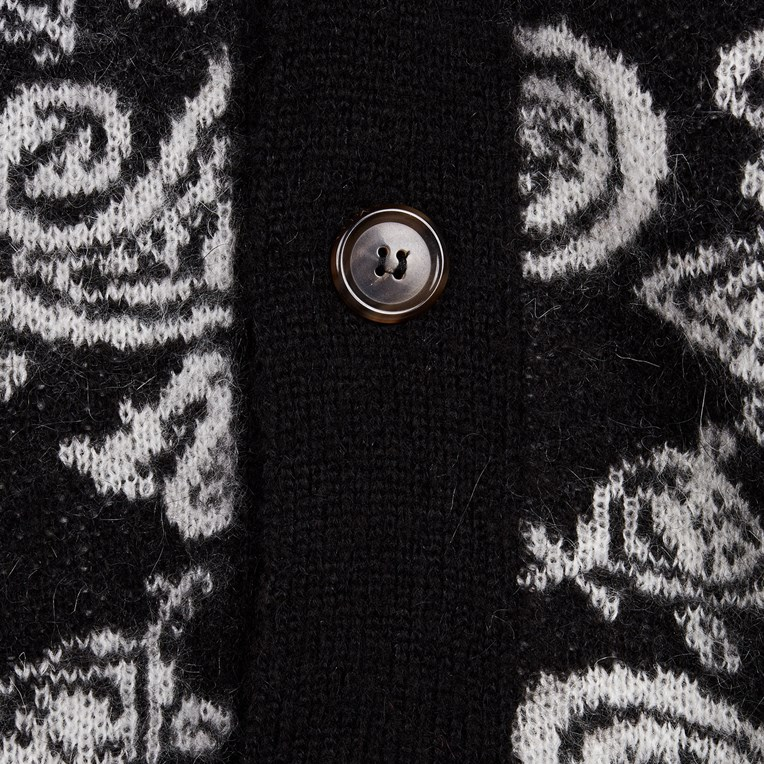 Aries Paisley Cardigan - 3