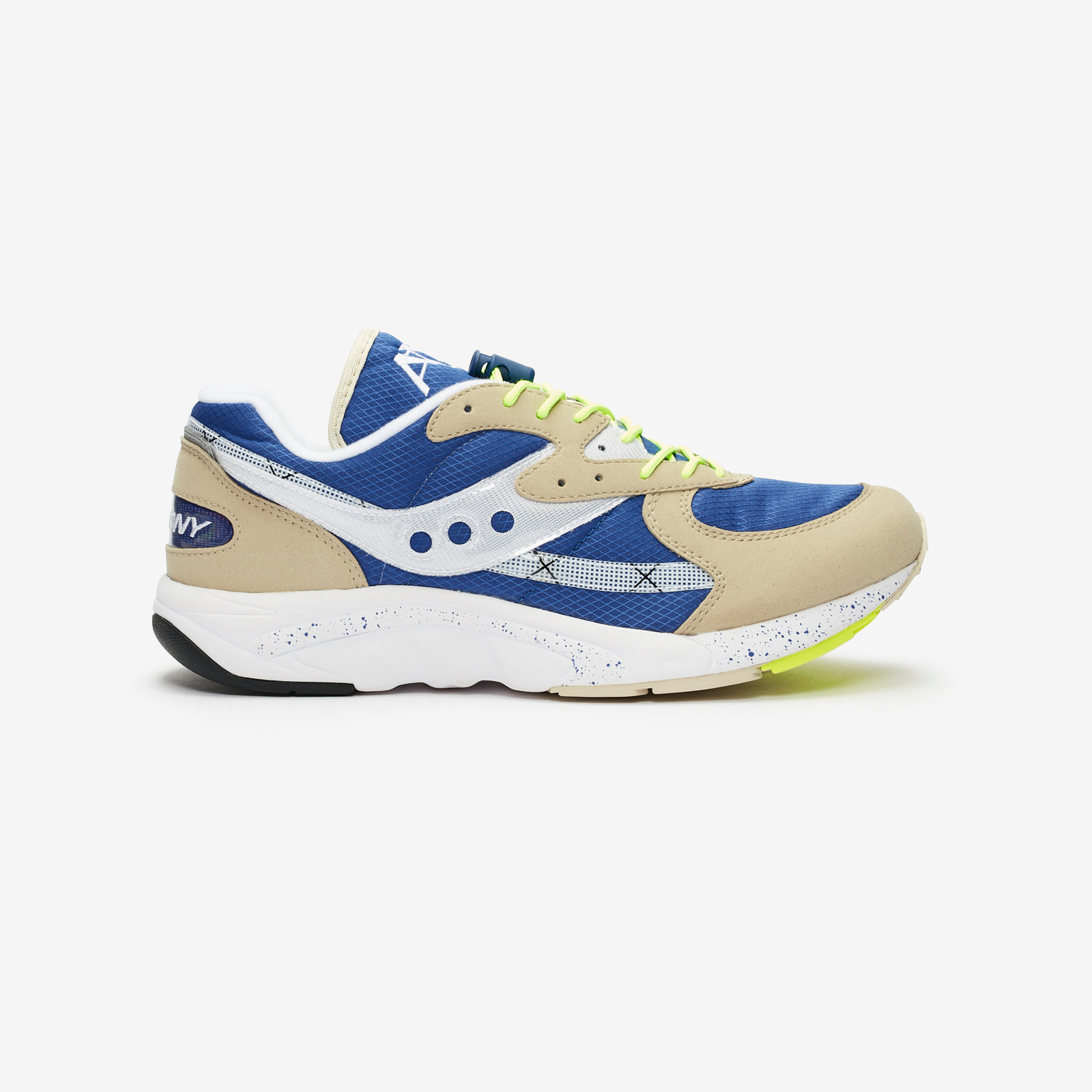 """S70460-2 White//Blue//Light Blue Saucony Aya /""""Limited Edition/"""" Sneakers"""