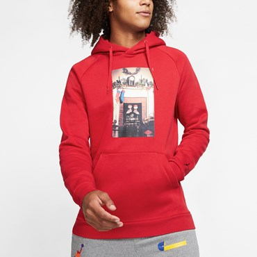 Jumpman Chimney Fleece PO Hoodie