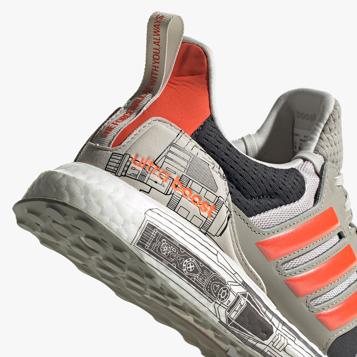 adidas UltraBOOST S&L Star Wars Fw0536 Sneakersnstuff | sneakers & streetwear online since 1999