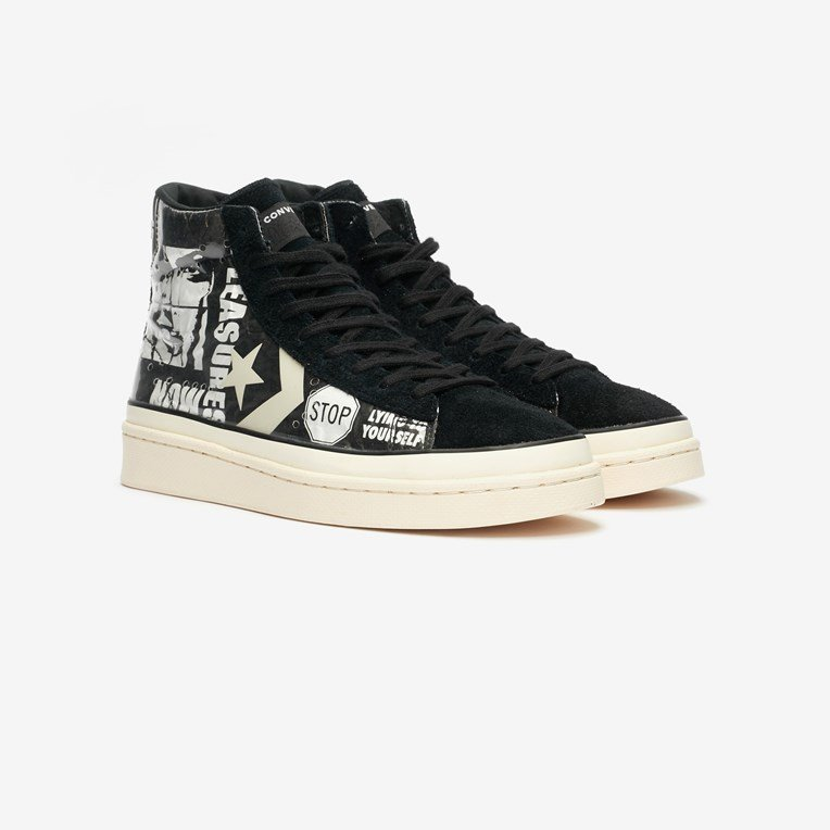 Converse Pro Leather Mid x Pleasures - 2