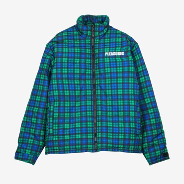 Decades Plaid Puffer Jacket