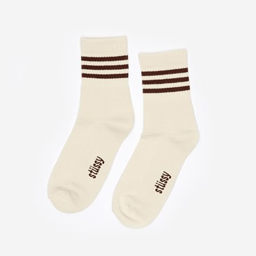 Clean Stripe Socks