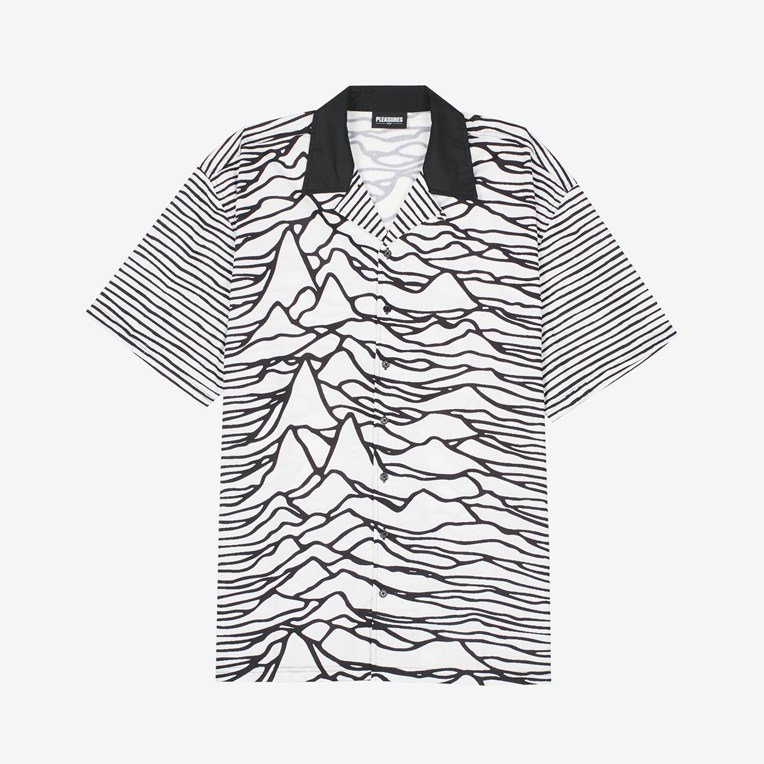 Pleasures Waves S/S Button Down