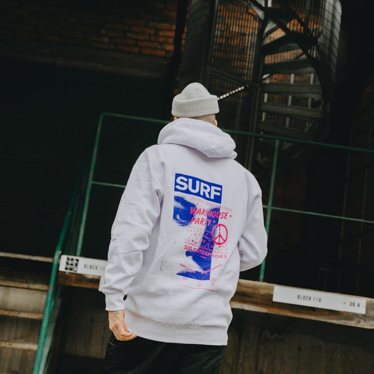 Surf Is Dead Warehouse Hoody - 7